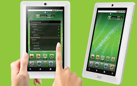 Schnäppchen-Tablet von Creative in 7 und 10 Zoll (Bild: Creative)