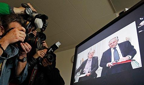 Akkreditierung für Verhandlung am 21. Juni notwendig (Bild: APA/Gert Eggenberger)