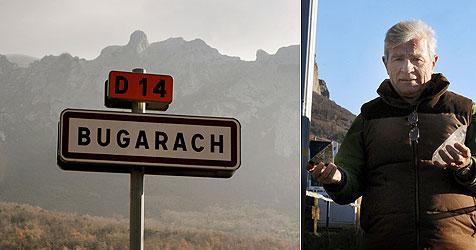 UFO-Gläubige suchen Rettung in französischem Dorf (Bild: AFP/Pascal Pavani)