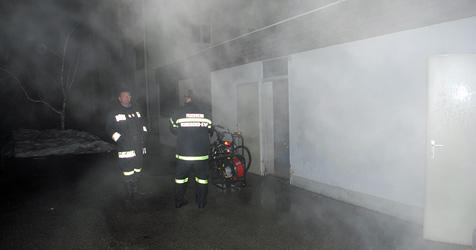 Sinnloser Einsatz für Feuerwehr in Neunkirchen (Bild: Einsatzdoku.at)