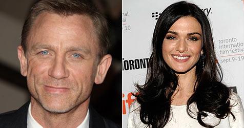 """""""Bond"""" Daniel Craig und Rachel Weisz turteln in England"""