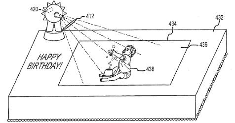 Disney lässt sich interaktive Kuchen patentieren (Bild: Disney Enterprises)