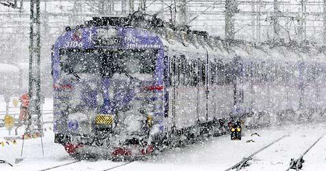 Schweden holt antiken Schneepflug aus Bahnmuseum