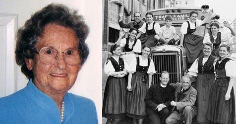 Älteste Tochter der Trapp-Familie ist gestorben