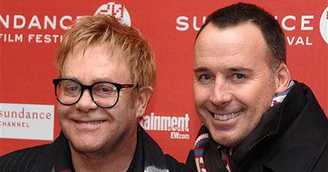Ist Elton John der leibliche Vater von Zachary? (Bild: AP)