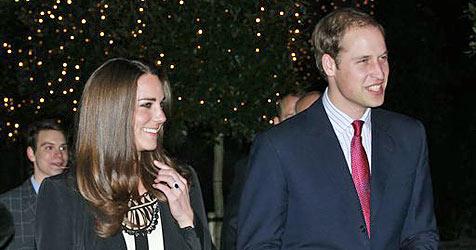 Kate und William wollen ohne Personal leben (Bild: AP)