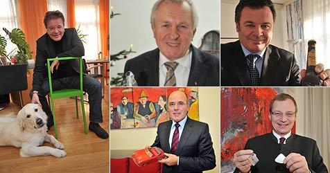 Landesriege hat Glücksbringer und Vorsätze für 2011 (Bild: Horst Einöder)