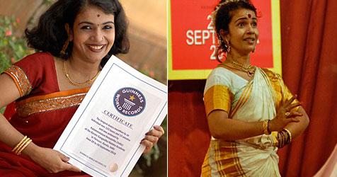 37-jährige Inderin stellt Rekord im Dauertanzen auf