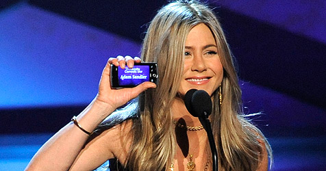 "Aniston bei den ""People""s Choice Awards"" betrunken?"