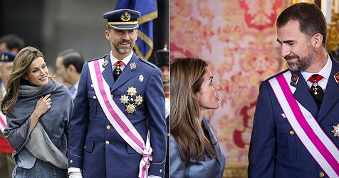 Letizia und Felipe zeigen sich zärtlich in der Öffentlichkeit
