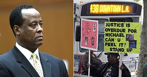 Murray telefonierte vor Jacksons Tod, statt zu helfen (Bild: AP)