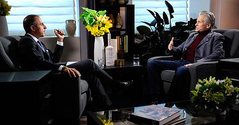 Hollywood-Star Michael Douglas fühlt sich geheilt