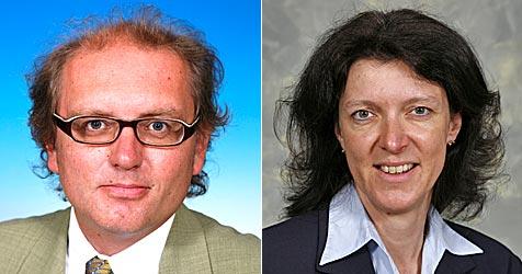 Landesregierung bestellt zwei neue Bezirkshauptleute (Bild: NÖ Landespressdienst/Boltz/Schleich)