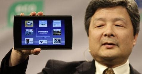 Panasonic bringt Tablet für den Fernseher (Bild: AP)