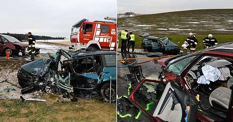 20-Jährige und 30-Jähriger sterben bei Verkehrsunfällen (Bild: Werner Kerschbaummayr)