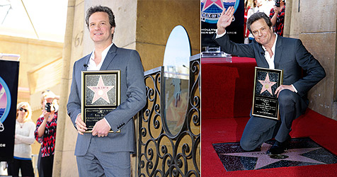 "Colin Firth hat Stern am ""Walk of Fame"" bekommen"