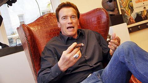 """""""Rauchersheriff"""" schickt Arnie zweite Anzeige hinterher (Bild: Christian Jauschowetz)"""