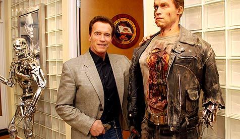 "Schwarzenegger: ""Ich lese gerade drei Drehb�cher"" (Bild: Christian Jauschowetz)"