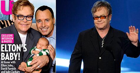 Elton John und David Furnish zeigen ihren Sohn