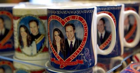 Die Nachfrage nach Kate und Williams Souvenirs ist riesig