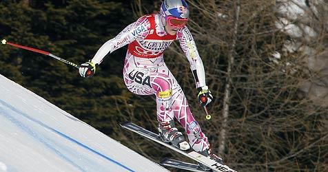 """Lindsey Vonn holt den Super-G von Cortina d""""Ampezzo (Bild: EPA)"""