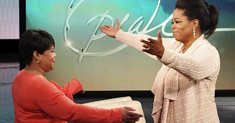 Oprah Winfrey lernt ihre Halbschwester kennen