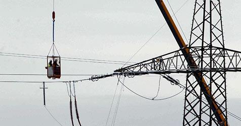 380-kV-Leitung ab Donnerstag unter Strom (Bild: Markus Tschepp)