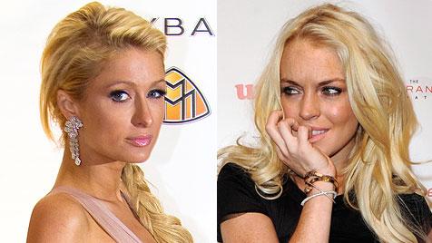 Hilton und Lohan bekommen eine Million für Boxkampf (Bild: EPA)