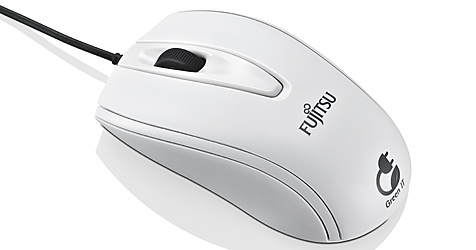Fujitsu präsentiert biologisch abbaubare Maus (Bild: Fujitsu)