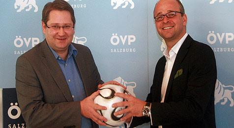 VP-Geschäftsführer Santner geht in die Privatwirtschaft (Bild: Idinger/ÖVP)