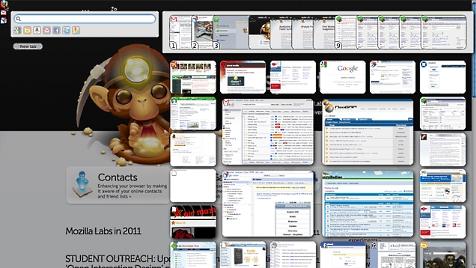 Mozillas Vision vom Browser der Zukunft jetzt als Download (Bild: Mozilla Labs)