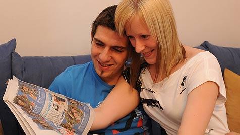 Barbara und Dieter haben alle Freunde mobilisiert (Bild: Koller)