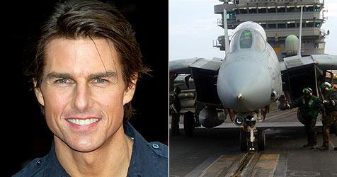 China schummelt Tom Cruise in Kampfjet-Doku
