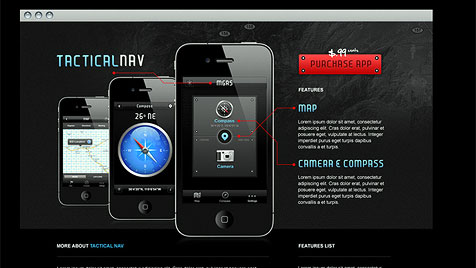 US-Soldat entwickelt App gegen Taliban (Bild: www.behance.net)