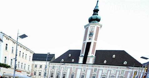 """1.000 Besucher """"stürmen"""" Büro von Landeshauptmann (Bild: APA/HERBERT PFARRHOFER)"""