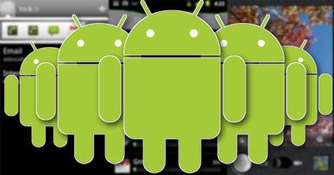 Android hält Hälfte des Smartphone-Marktes