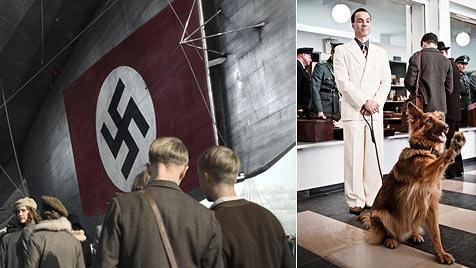 Jaenicke verteidigt Hitlergruß seines Filmhundes (Bild: (c) RTL)