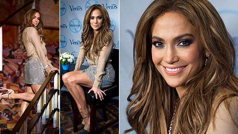 Jennifer Lopez ist jetzt Botschafterin für Damenrasierer (Bild: AP)