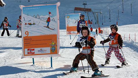 Hinterglemm macht ersten Schritt zum Ski-Führerschein (Bild: Niki Faistauer)