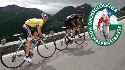 Radfahrer zahlen ab Mai wieder Gebühr am Großglockner (Bild: APA/EXPA/Sandro Zangrando/ GROHAG)