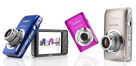 Canon mit neuen Ixus-, Powershot und EOS-Modellen (Bild: Canon)