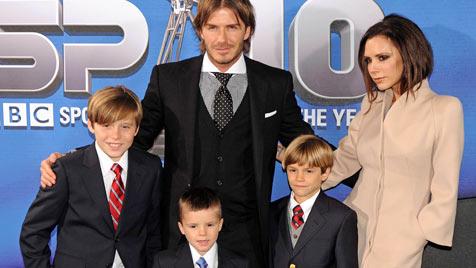 Endlich ein Mädchen für Victoria und David Beckham!