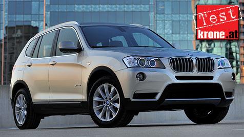 BMW X3: Es ist schwer, an ihm etwas auszusetzen (Bild: BMW)