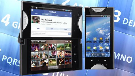 Kyocera bringt erstes Handy mit zwei Touchscreens (Bild: sprint.com)
