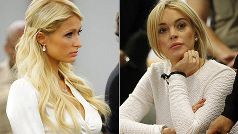 Die Stars tragen im Gericht ihre weiße Weste zur Schau (Bild: AFP, AP)