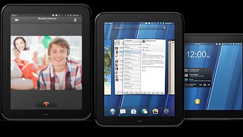 Hewlett-Packard greift Apple erneut mit Tablet-PC an (Bild: Hewlett-Packard)