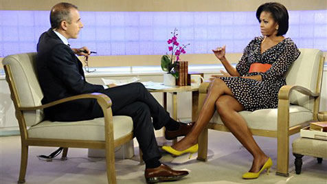 Michelle Obama trägt H&M-Kleid in US-TV-Show