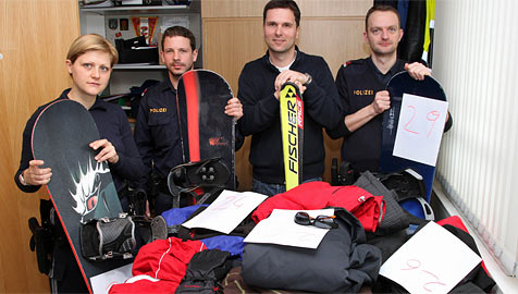 Seriendieb stahl in Saalbach Jacken, Skier und Boards (Bild: Niki Faistauer)
