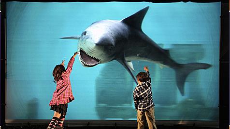 Weltgrößtes TV-Gerät für 3D ohne Brille präsentiert (Bild: NICT)