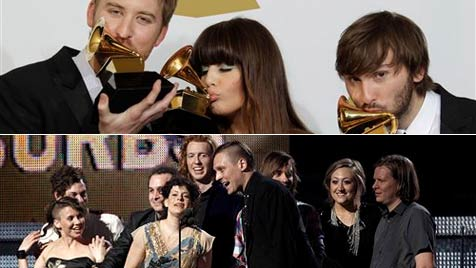 "Countryband räumt ab, ""Best Album"" an Arcade Fire"